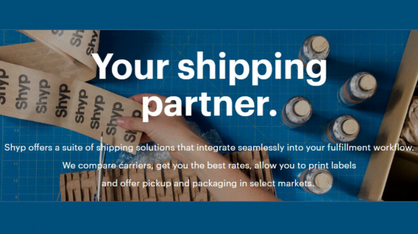 Shyp says it's rolling out a program to offer small businesses on-demand shipping solutions via Shyp for Shopify in several major U.S. cities.