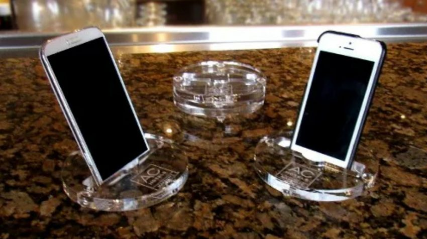 Forget Cups or Pens, The Next Big Promotional Item? The Smartphone Coaster Stand!