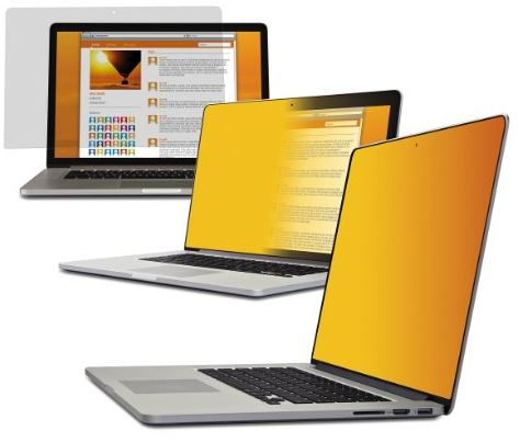 Visual hacking is on the rise. A privacy screen protector can help prevent that. Here are 20 laptop privacy screen protectors to consider - 3M Gold Privacy Filter