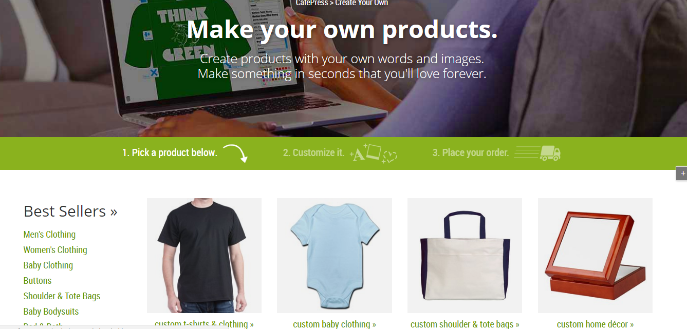 How to Create and Order CafePress T-Shirts for Your Small Business - Getting Started