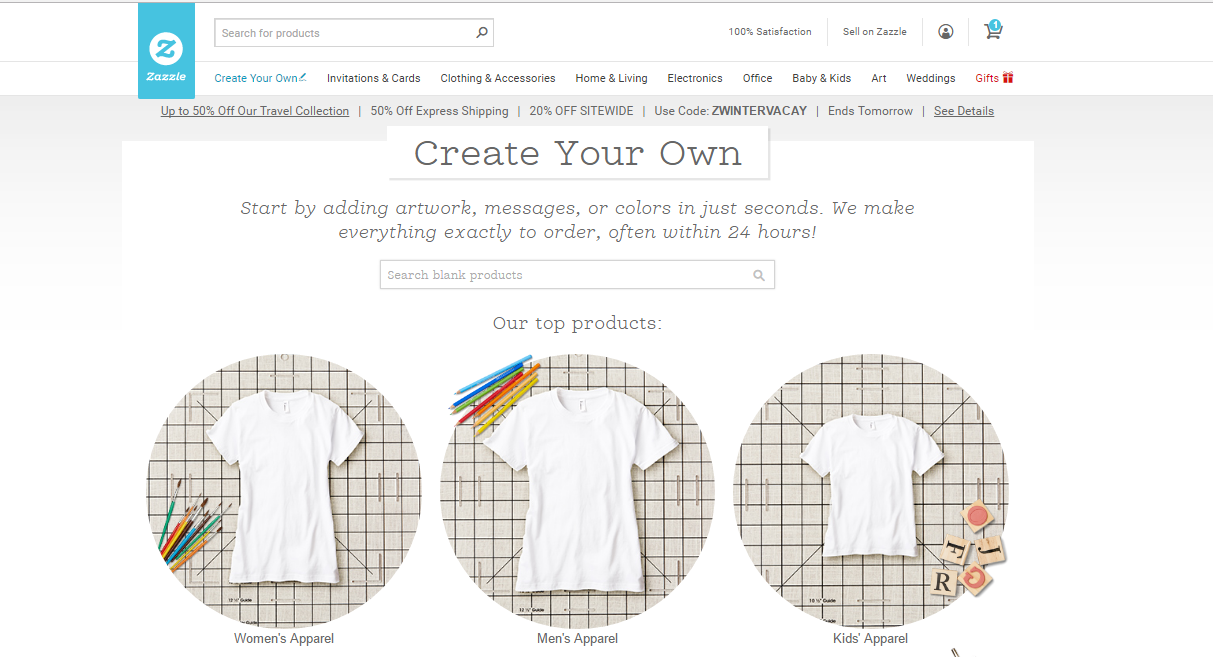 How to Create a Zazzle Store - Add Products