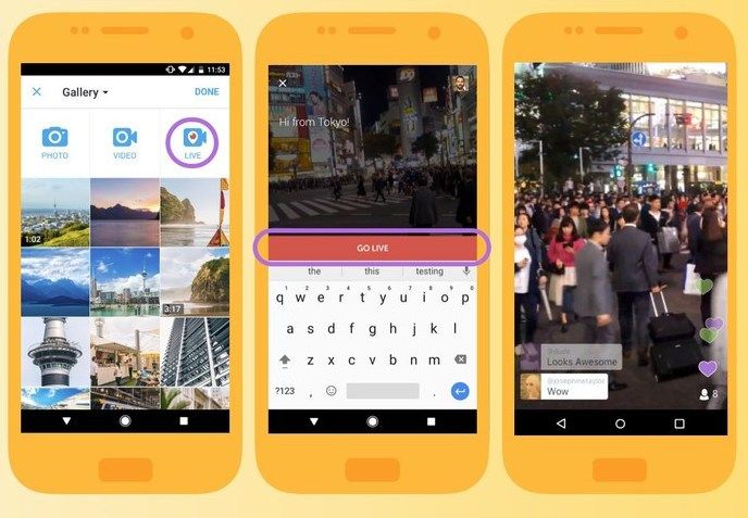 Twitter Go Live enables you to broadcast live from the Twitter app on both iOS and Android, but Periscope isn't going anywhere either.