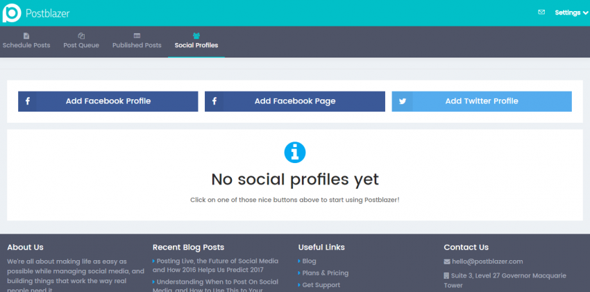 Postblazer Claims to Make Managing Multiple Social Media Accounts Easy