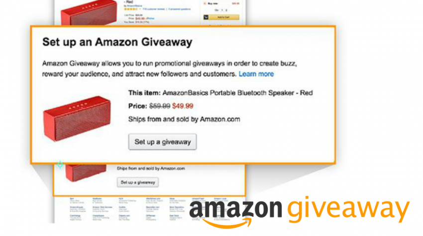 A giveaway can draw lots of attention to your small business. And Amazon Giveaways provides an easy way to hold your own contest.