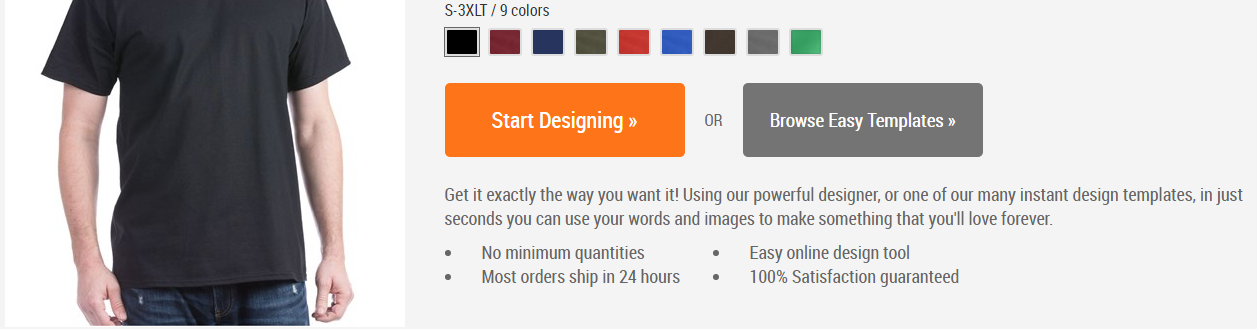 How to Create and Order CafePress T-Shirts for Your Small Business - Customize Your Products