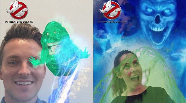 Best Viral Campaigns of 2016 - Ghostbusters: Branded Filters on Snapchat