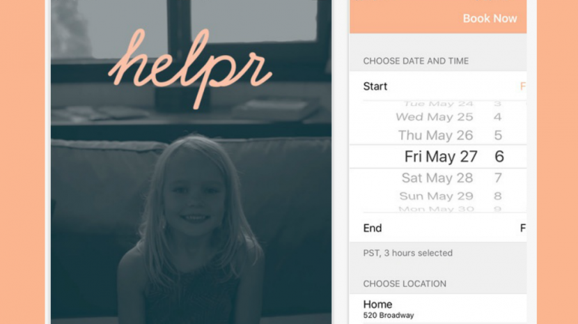 The easy-to-use on demand babysitting app Helpr is free, and the service has no subscription fee. Will it change the child care industry?