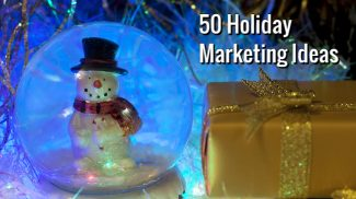 The holidays provide plenty of opportunities to market to customers in new and unique ways. Here are 50 2016 holiday marketing ideas to get you started.