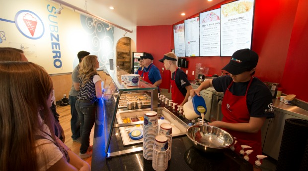 Spotlight: Sub Zero Ice Cream Franchise Puts a New Spin on Frozen Treats
