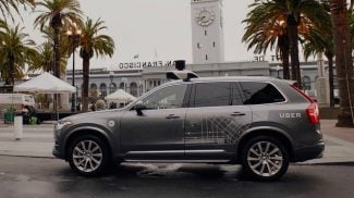 On the first day Uber launched its self-driving fleet on San Francisco, the state of California says not so fast. The issue: self-driving vehicle laws.
