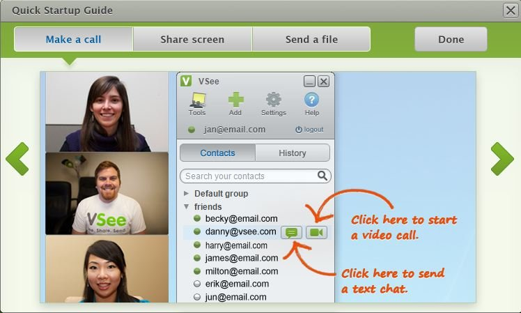 Free Video Conferencing Services - VSee