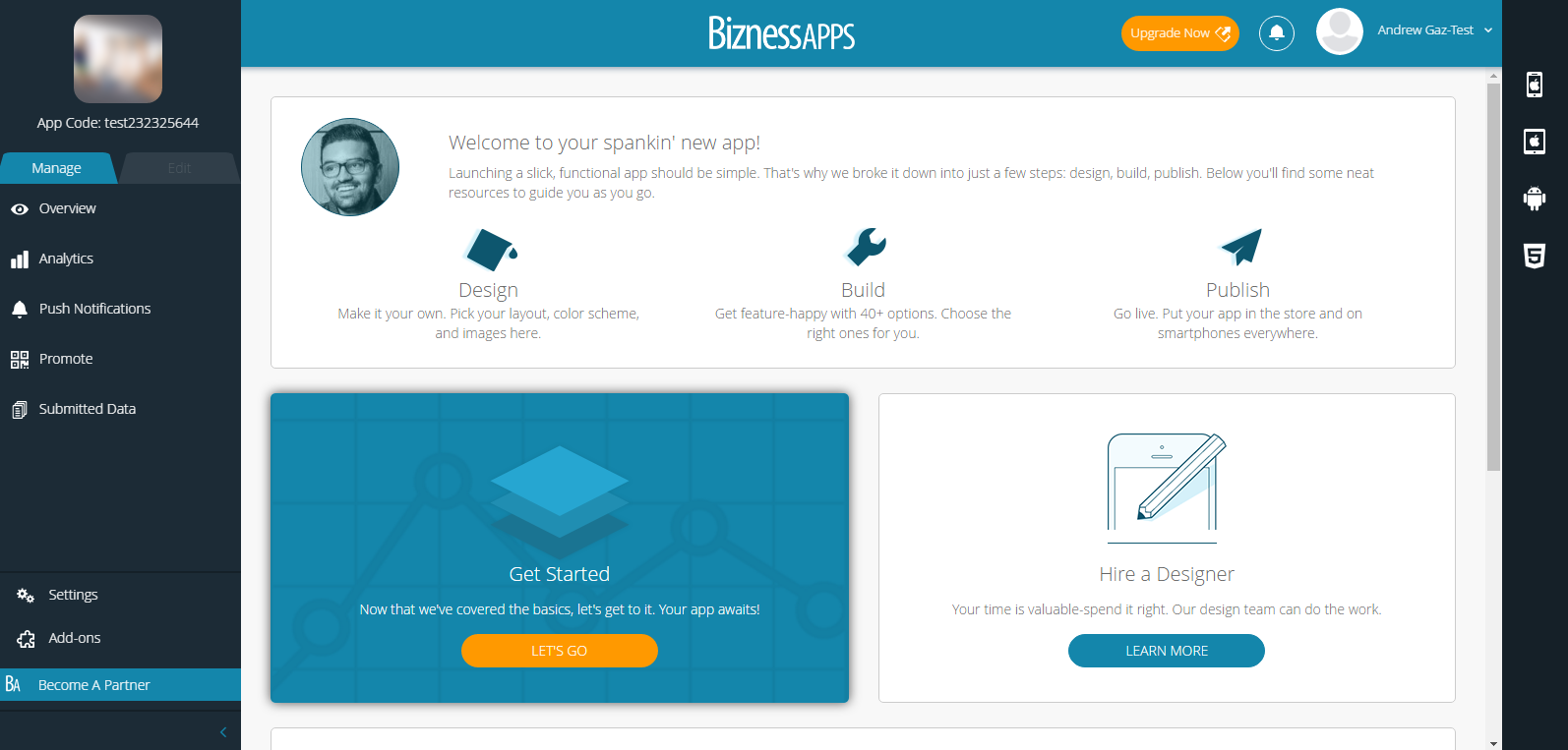 How to Build Your Own App Using Bizness Apps - Finish Up