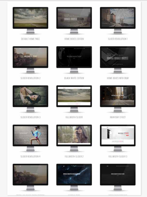 50 One Page Website Templates for Your Business - Crexis