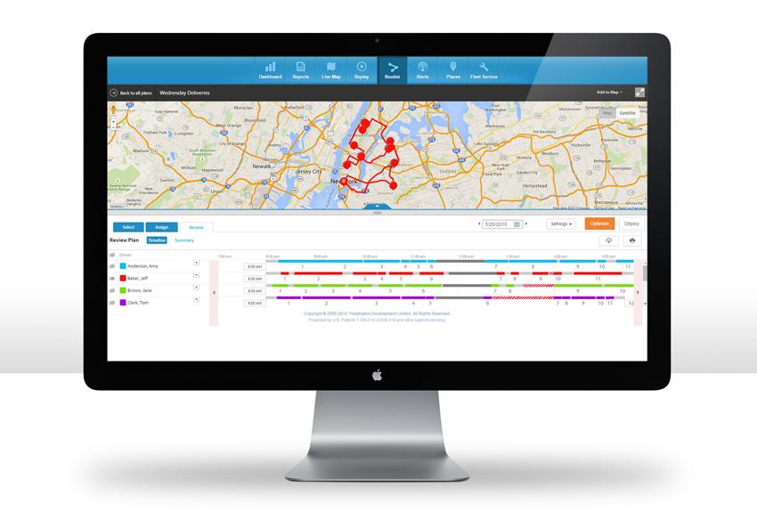 Fleetmatics' New Route Optimization Solution is Helping Transform Fleet Management for Small Business