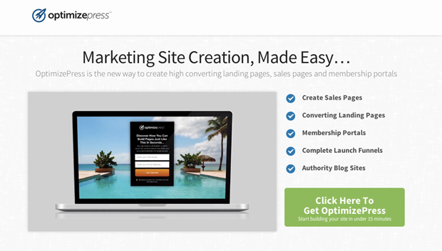 15 Killer Landing Page Builders - OptimizePress