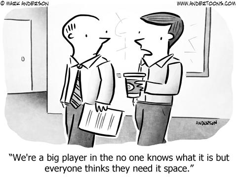Next Big Thing Business Cartoon