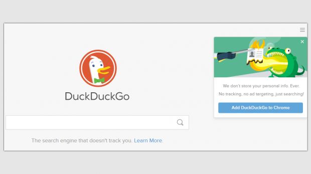 The anonymous DuckDuckGo search engine provides small businesses with a safe way to search the web along some useful features.