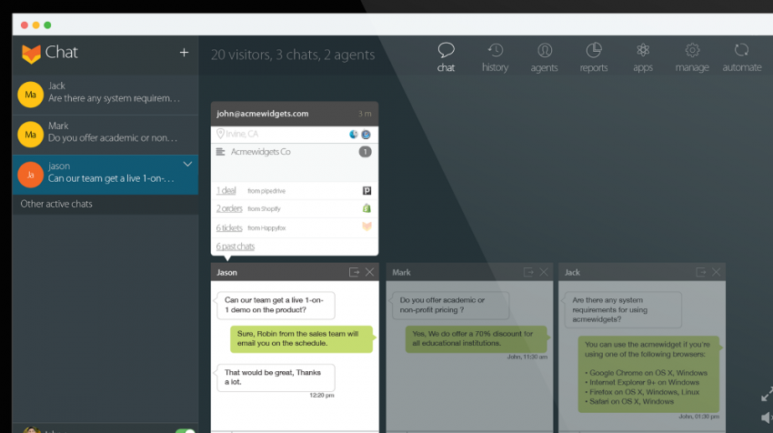 HappyFox Introduces Help Desk and Chat Software for Your Business Website