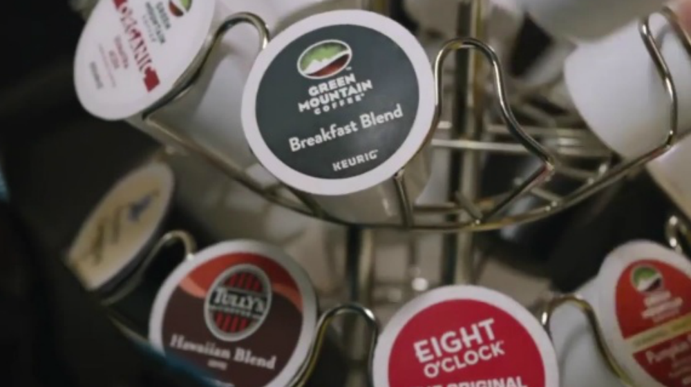 Keurig Anheuser Busch Introduce Single Serve Beer Brewing