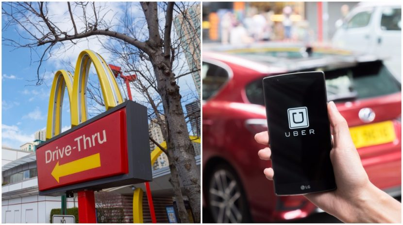 McDonalds and UberEats Partnering on Delivery Service