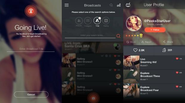 Social Commerce Livestreaming Platform Peeks