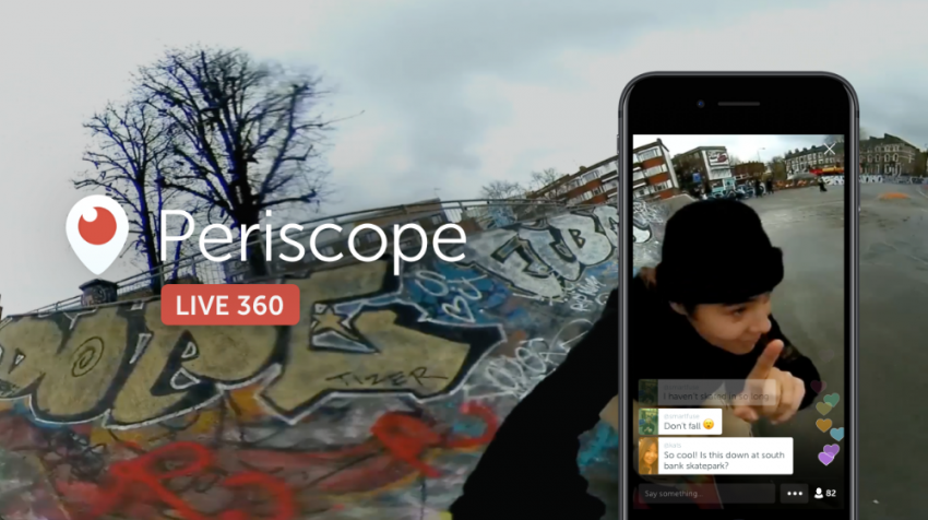 Twitter just introduced Live 360 video on Periscope, giving users the ability to livestream 360-degree videos. Find out how it works.