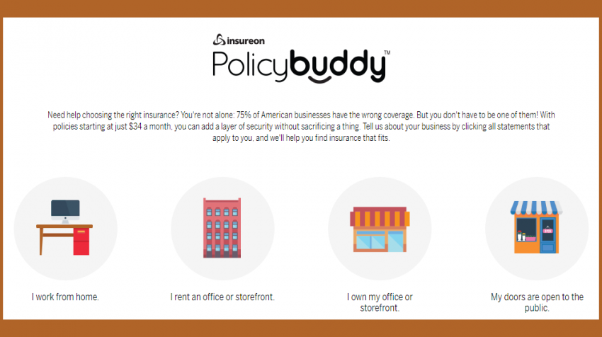 Policy Buddy Embeds Business Insurance Wizard on Your Site