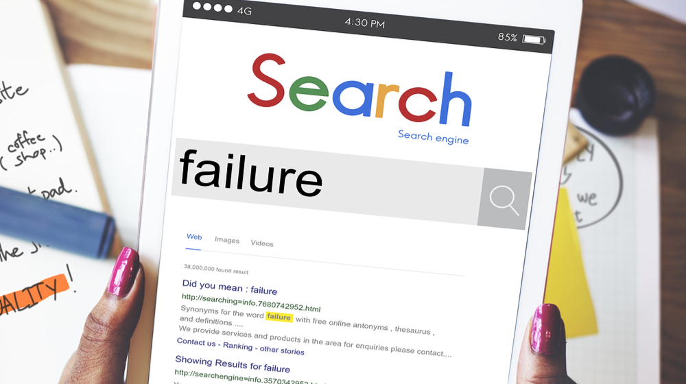What To Do When Your SEO Campaign Fails