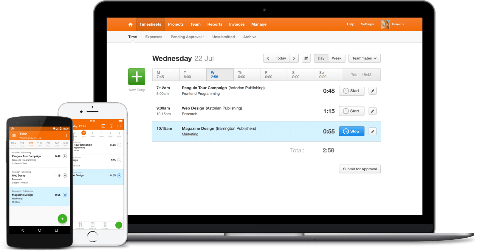 20 Best Time Management Apps for Small Business - Harvest