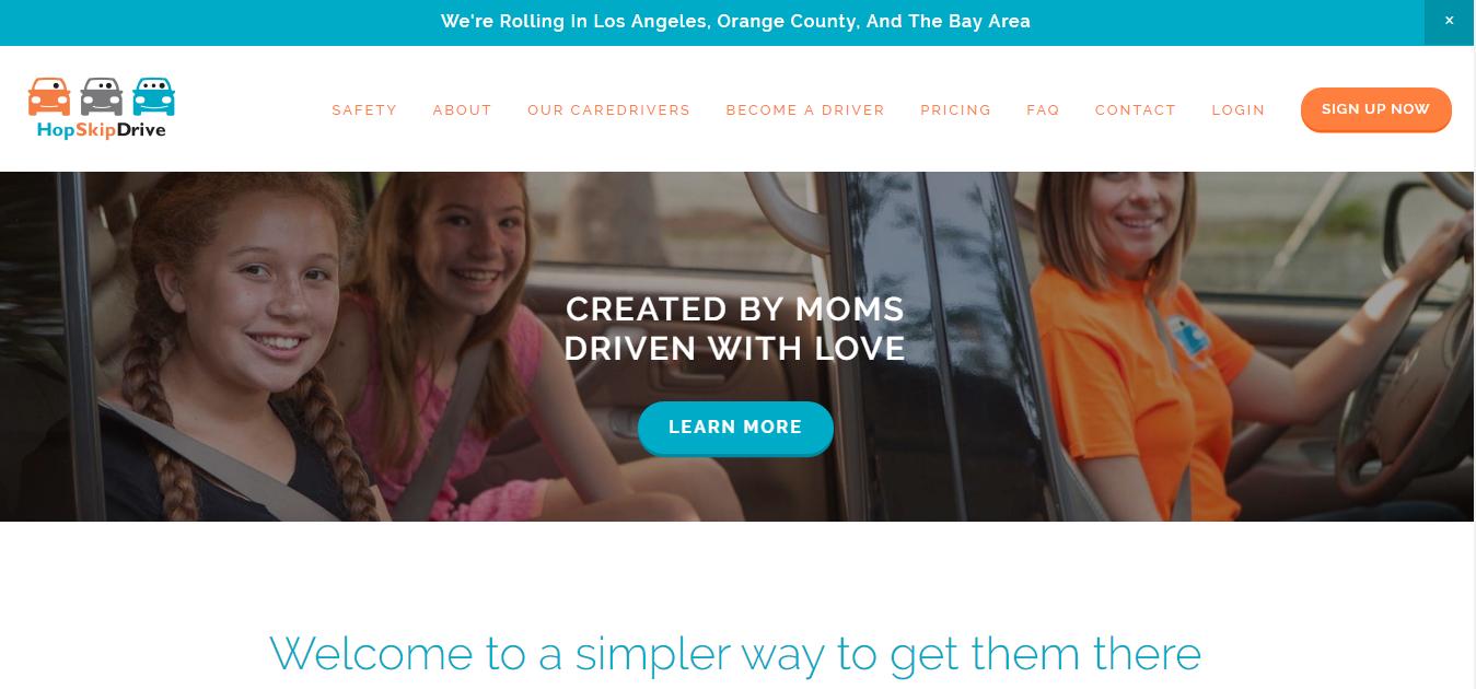 Gig Websites - HopSkipDrive