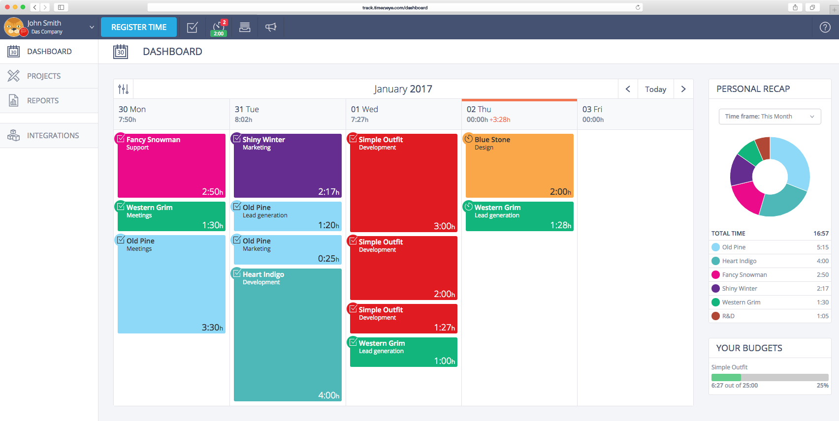 20 Best Time Management Apps for Small Business - Timeneye