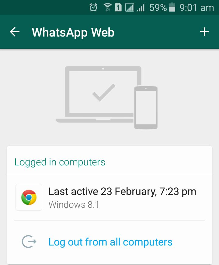 How to Get Started on Whatsapp - Signing In