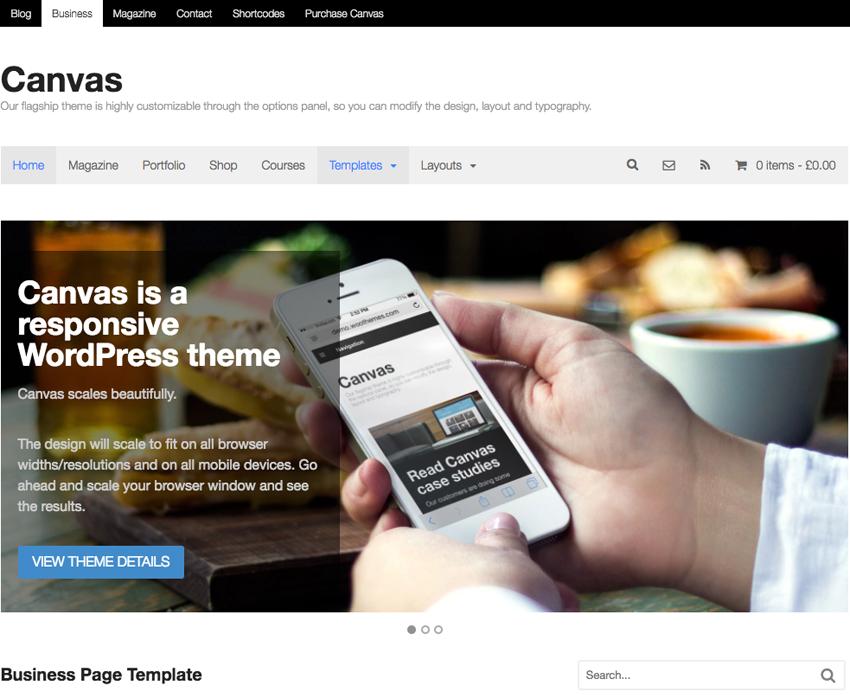 10 Most Popular WordPress Themes - WooFramework
