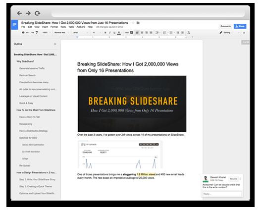 Using Wordable to Convert Google Docs to WordPress - Step 1