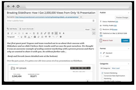 Using Wordable to Convert Google Docs to WordPress - Step 3