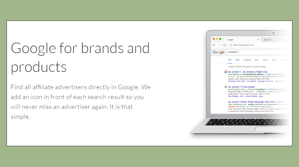 If you're looking to monetize your content using affiliate marketing, Affilitizer connects Google searchers with affiliate marketing programs seamlessly.