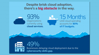 Small businesses aren't having trouble keeping up with cloud technology but will the risks of cloud computing scare everyone away?