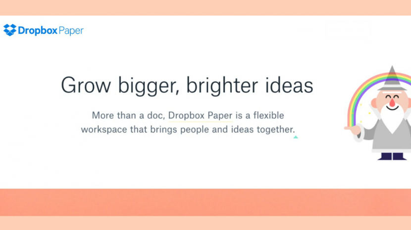 Dropbox Officially Launches Paper Collaboration Tool