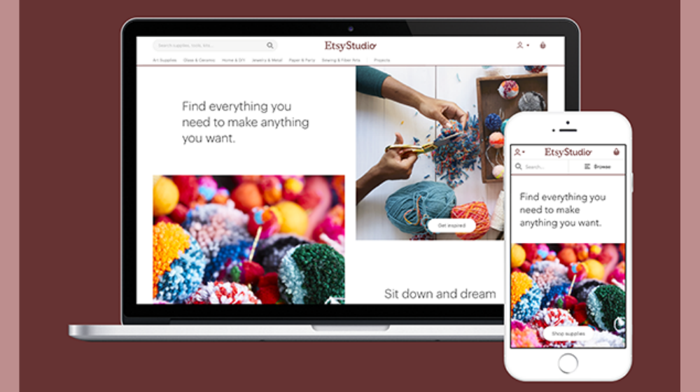 Etsy Studio Creates Online Marketplace for Craft Supplies