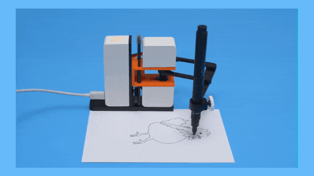 Line-us Drawing Robot Provides New Tool to Commercial Artists, Designers