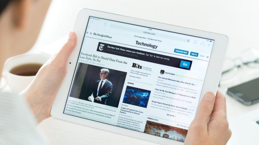 iPad Sales Decline Amid Tablet Slump