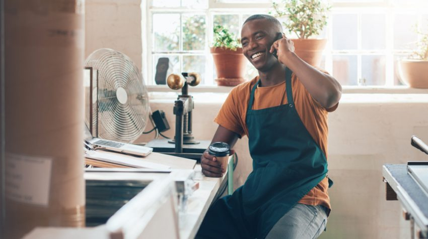 Small business owners are optimistic about 2017 and plan to grow and hire more employees. The same optimism isn't quite there among their customers.