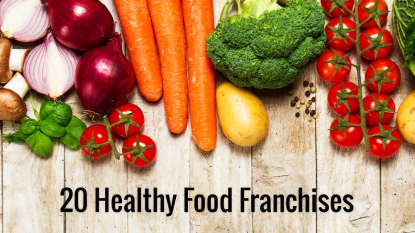 Move Over McDonald's -- 20 Healthy Food Franchises to Challenge the Burger Chains