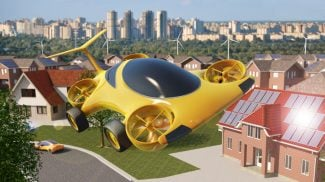 Will we soon see flying cars from Uber? The ride-sharing service recently hired a former engineer at NASA to lead its exploration of flying car technology.