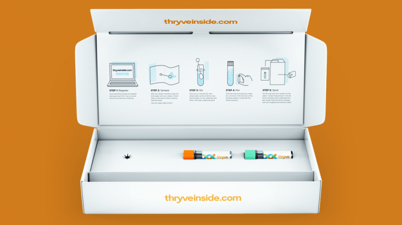 Thryve is using new and old technologies to help consumers get an accurate reading on their own inner health. It all starts with the Thryve testing kit.