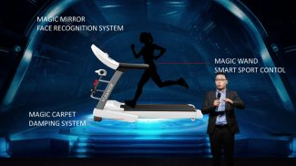 Let's be honest for a second. Using treadmills isn't always the most pleasant exercise experience. That's where this futuristic treadmill comes in.