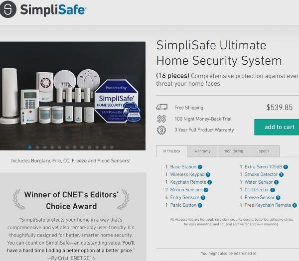 SimpliSafe - A Customer Profile Example