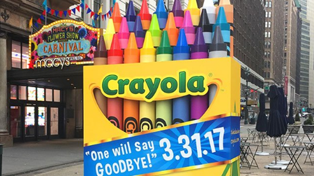 Color Us Surprised! Crayola Finds New Way to Create Buzz