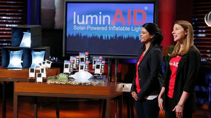 LuminAID Goes from Shark Tank Funding to FedEx Win