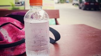Sales of bottled water are outpacing those of bottled soda. Is this the sign of current health trends or is another factor at play?